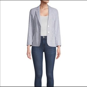 MaxMara Weekend Pincio Striped Blazer Jacket 8